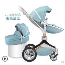 бебешка количка Hот Мом аналог Мима Хари/Mima Xari 2 в 1 Синьо