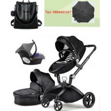бебешка количка Hоt mоm  аналог Mima Xari 3 в 1 черно