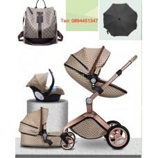 бебешка количка Hоt mоm 3 в 1 Gucci / гучи