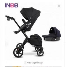 бебешка количка INBB аналог Stokke Xplory черно