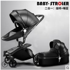 бебешка количка AULON аналог Мима Хари/Mima Xari 2 в 1 черно